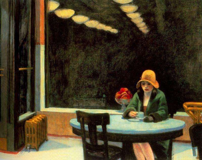 Cuadros de Edward Hopper Automat