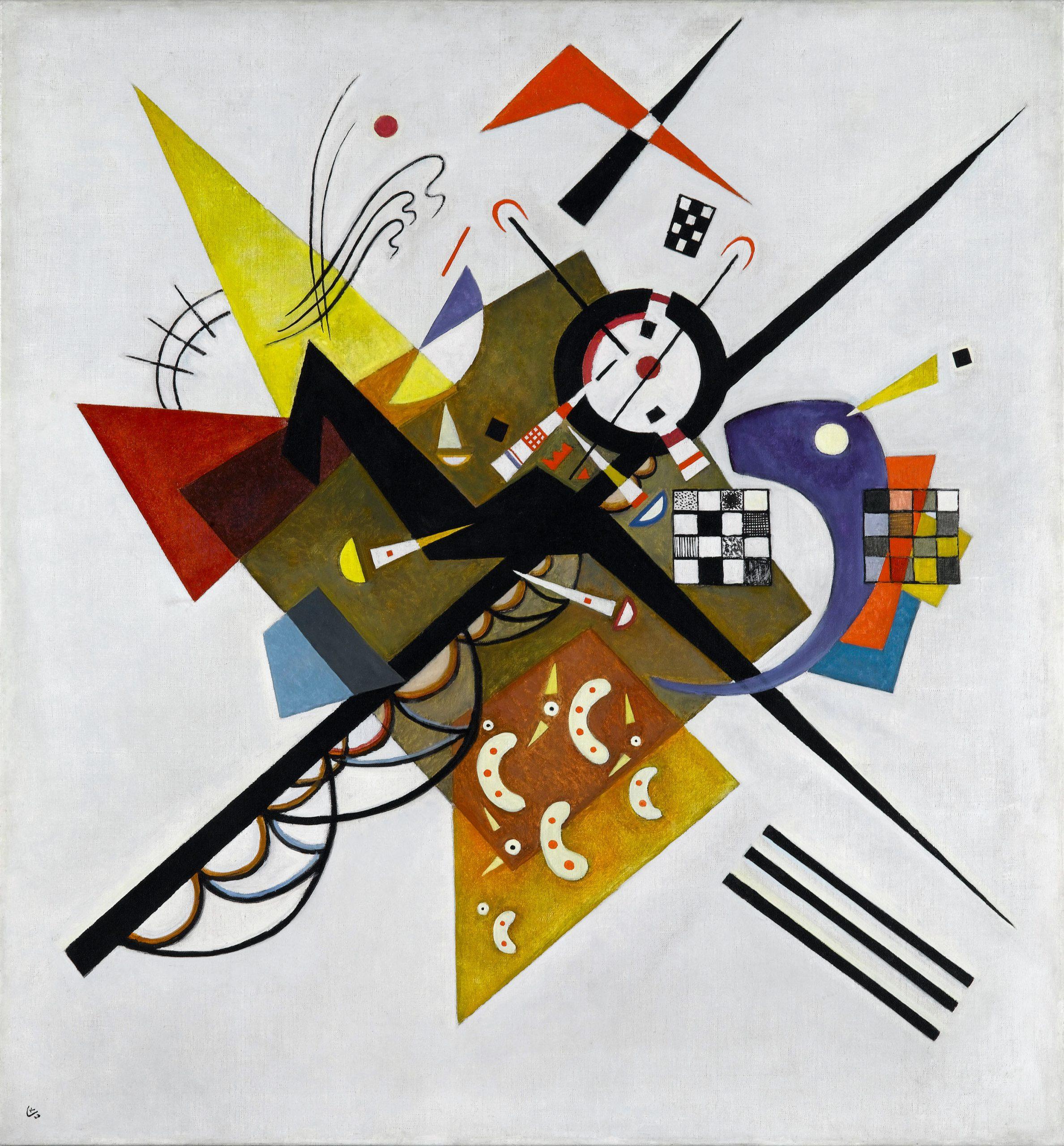 Kandinsky En Blanco II
