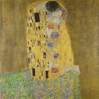 Obras de Klimt El Beso