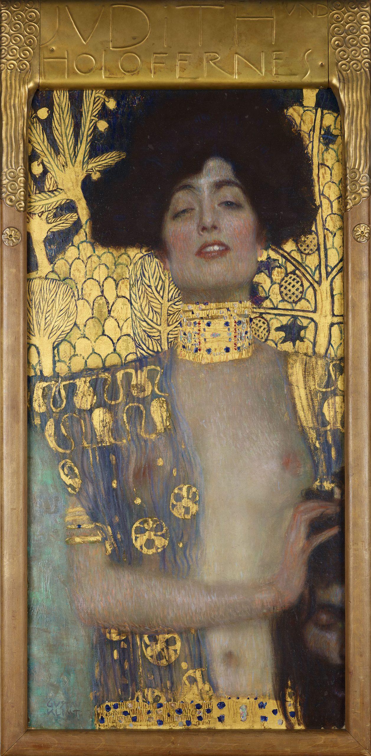 Klimt Judith y la cabeza de Holofernes