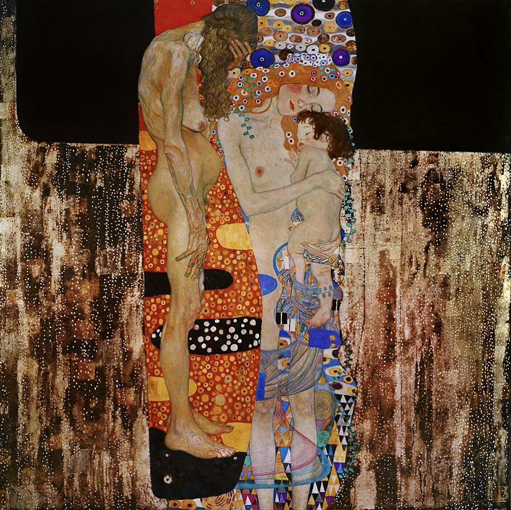 Klimt Las 3 edades de la mujer