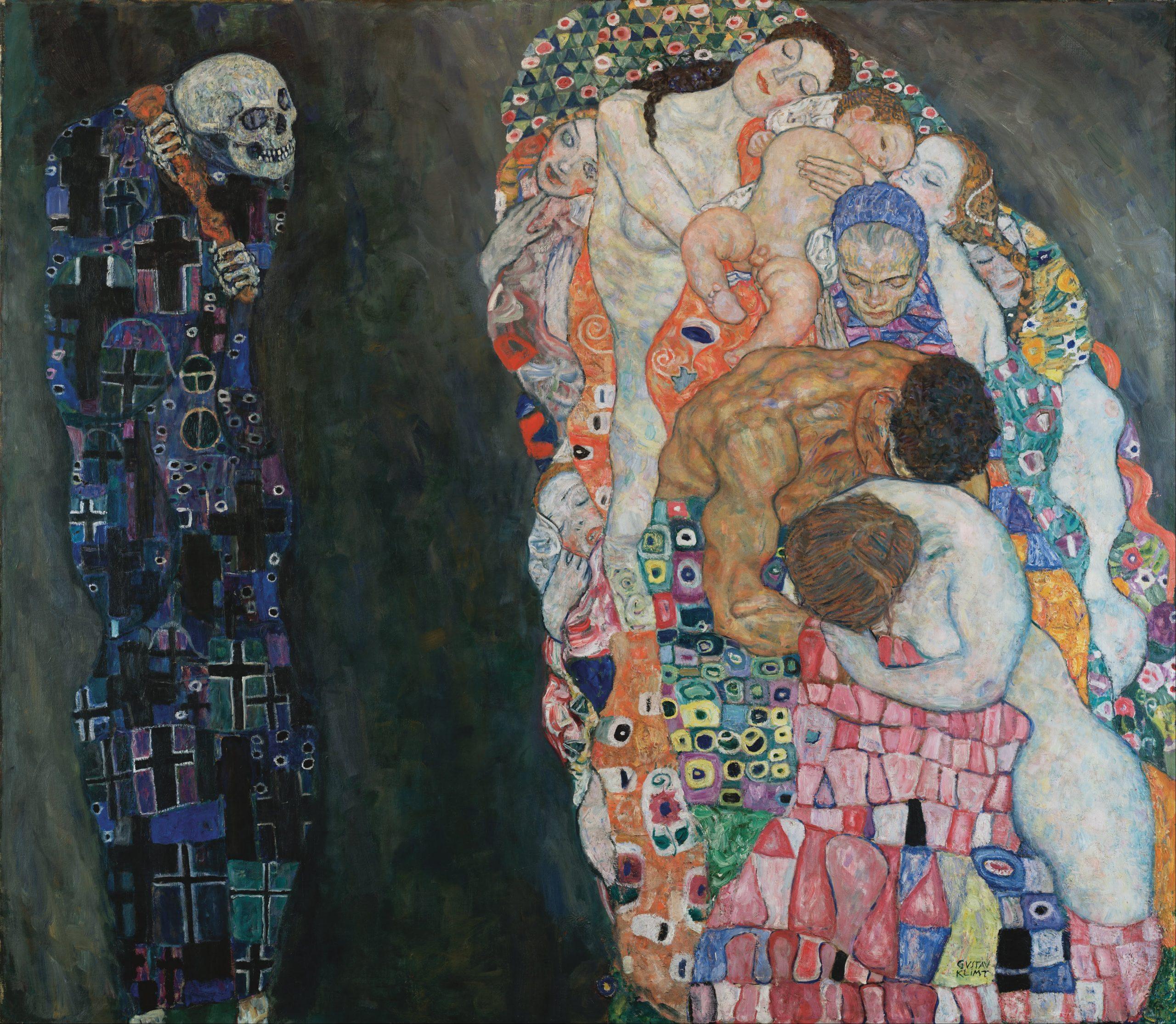 Klimt Muerte y vida