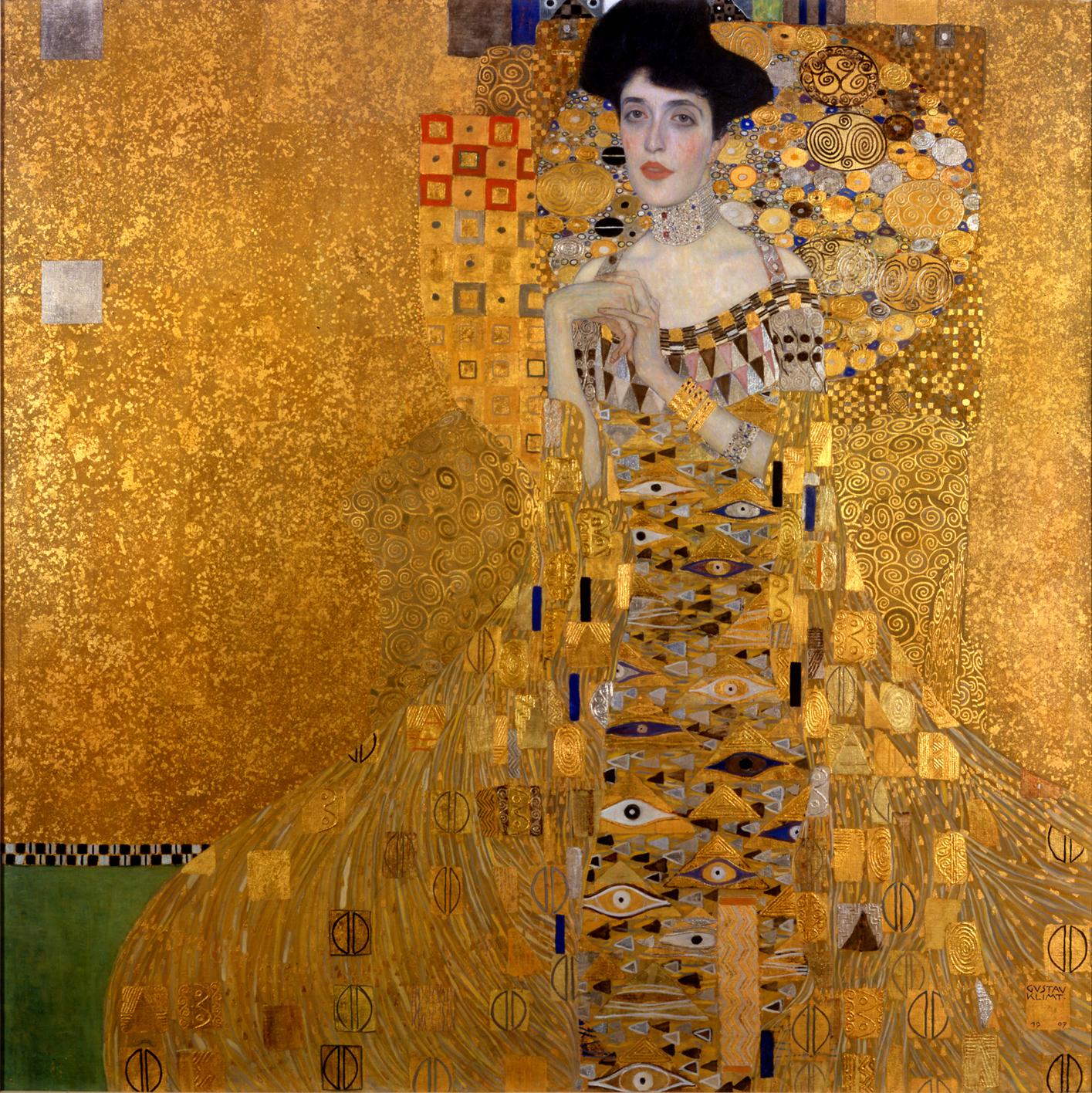 Klimt Retrato de Adele Bloch-Bauer I