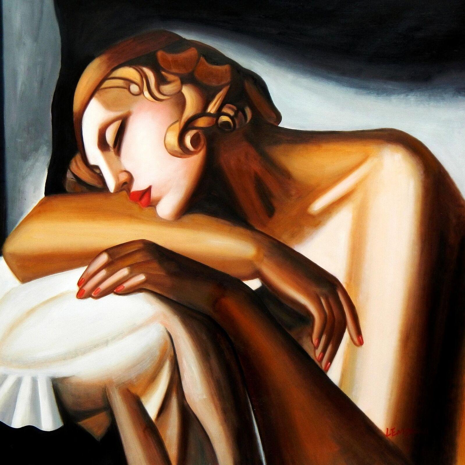 Cuadros de Tamara Lempicka La durmiente