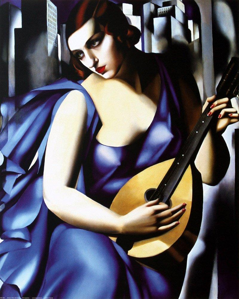 Cuadros de Tamara Lempicka La música