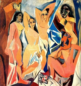 Cuadros Famosos Las Señoritas de Avignon