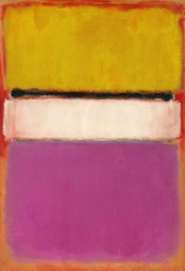 Cuadros abstractos Mark Rothko - White Center (1950)