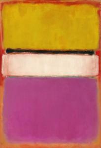 Cuadros abstractos Mark Rothko - White Center (1950)