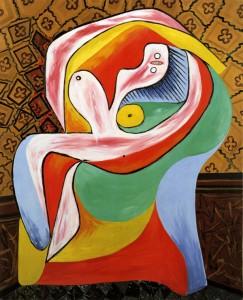 Cuadros abstractos Pablo-Picasso_Le-repos_22.01.1932