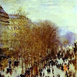 Cuadros impresionistas Boulevard Des Capucines