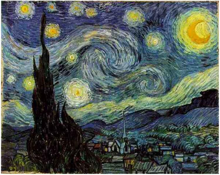 la-noche-estrellada