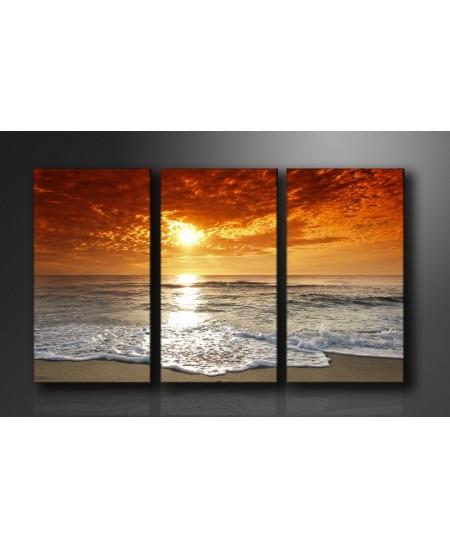 cuadros tripticos paisaje