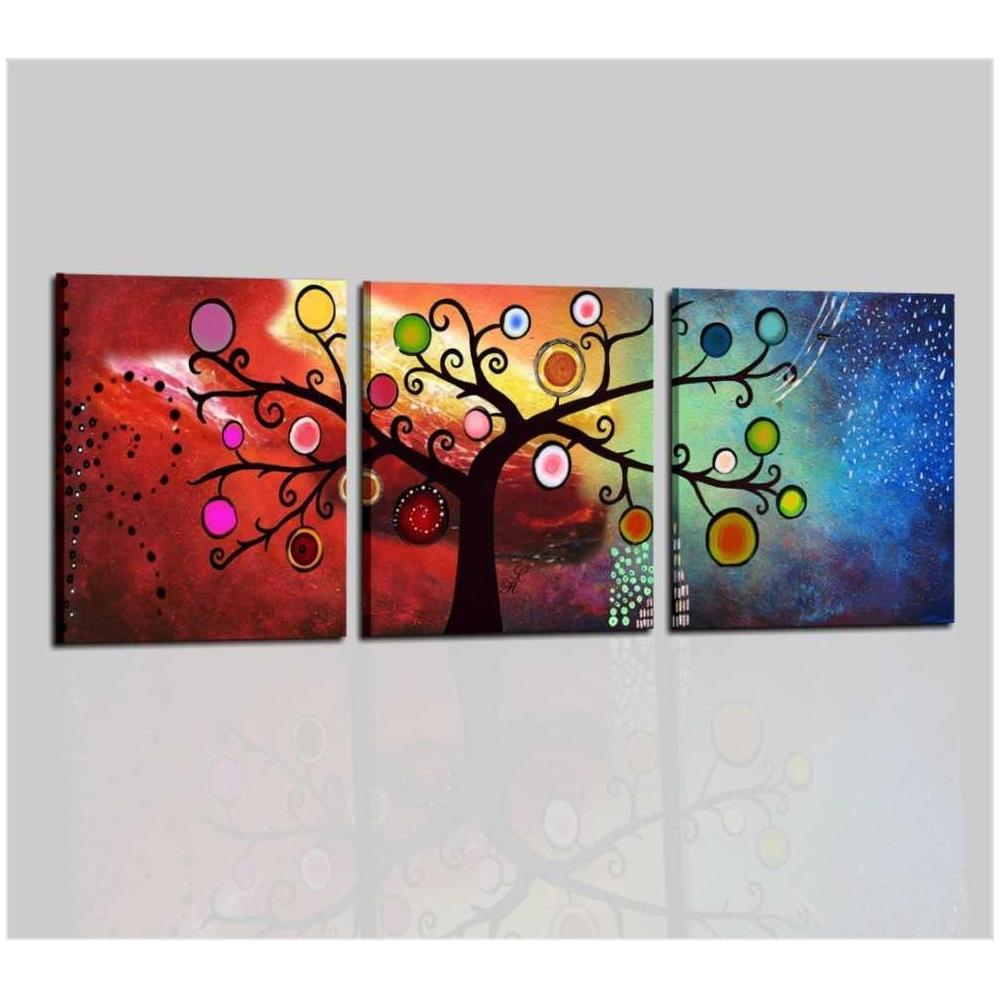 cuadros tripticos de arbol