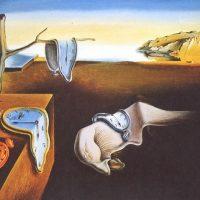 cuadros de dalí - La persistencia de la memoria