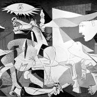 cuadros de picasso la Guernica