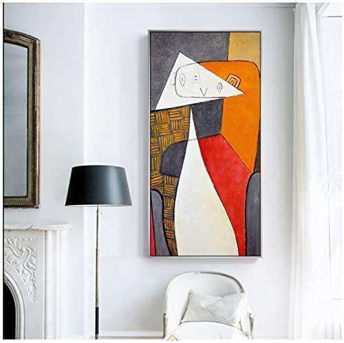 Cuadros de picasso con figuras geometricas
