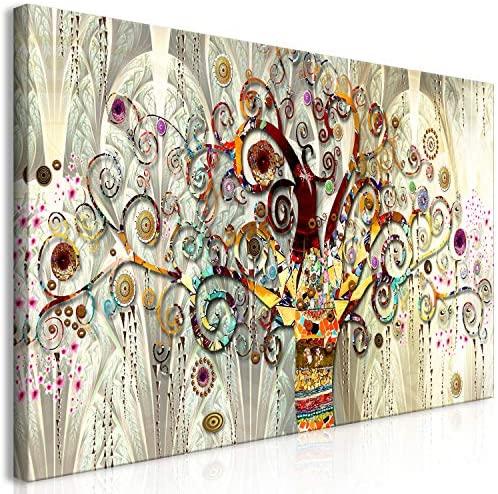 Cuadros abstractos de flores modernos