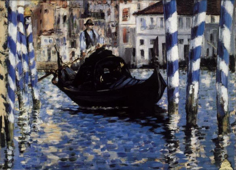 El Gran Canal de Venecia Manet