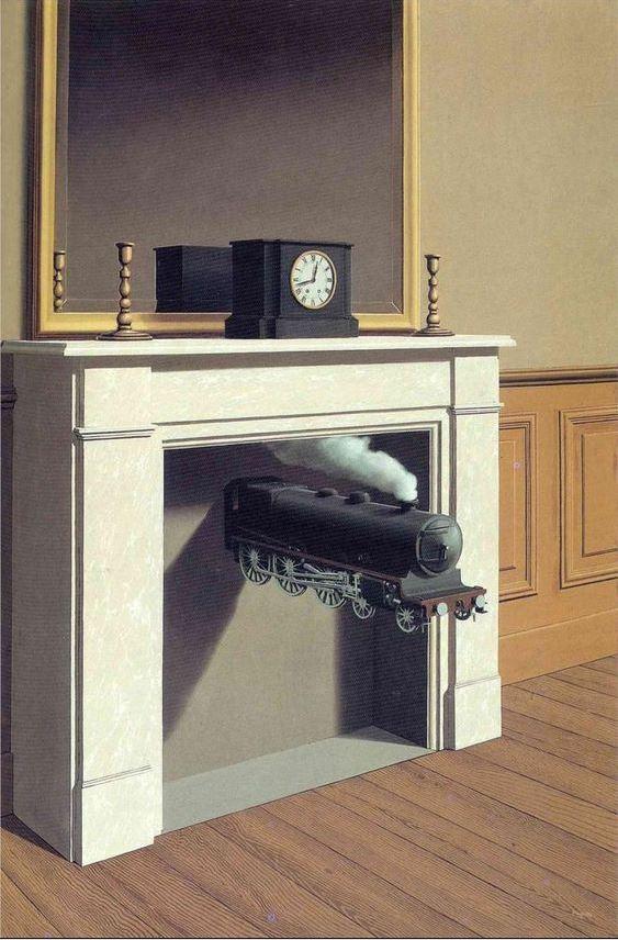 Magritte El tiempo perforado